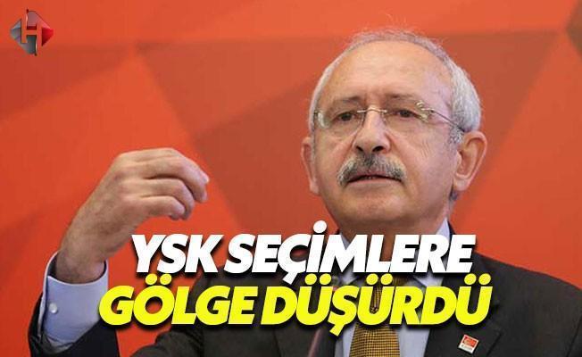 Kılıçdaroğlu: YSK Referanduma Gölge Düşürdü