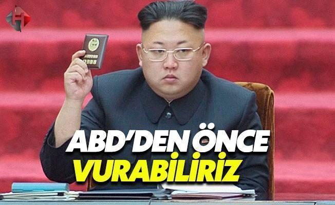 Kuzey Kore: ABD'den Önce Vurabiliriz