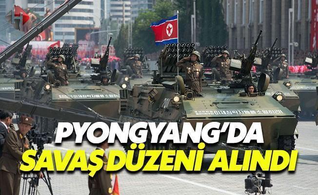Kuzey Kore'den Açıklama: Savaşa Hazırız