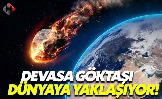 NASA, 'Potansiyel Tehlike' Oluşturan Göktaşını Bekliyor