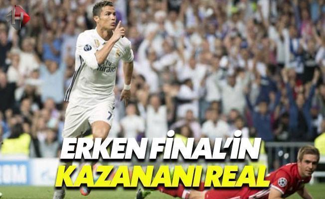 Real Madrid Uzatmalarda Farka Koştu