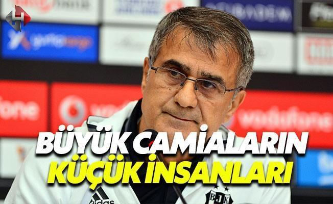 Şenol Güneş: Türkiye'yi ve Beşiktaş'ı İyi Temsil Ettik