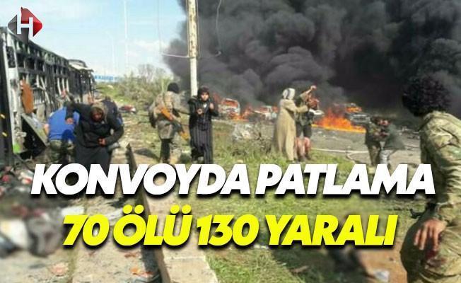 Tahliye Konvoyunda Patlama: 70 Ölü 130 Yaralı