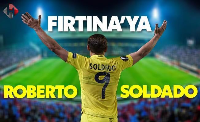 Trabzonspor'a İspanyol golcü Roberto Soldado