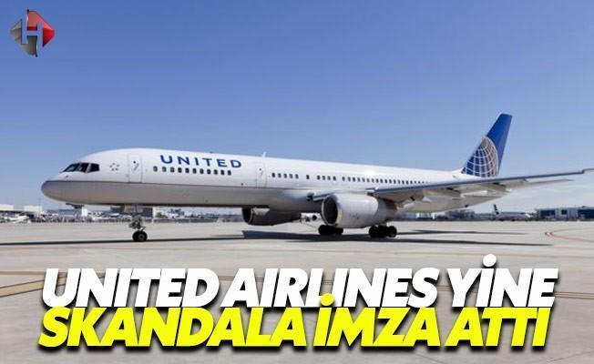 United Airlines bu sefer de bir çifti uçaktan indirdi
