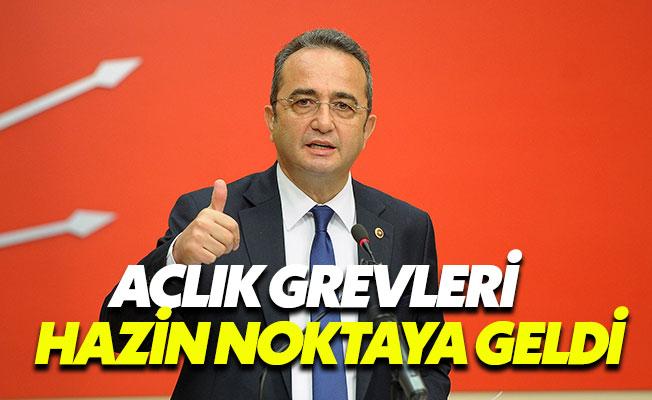 """Bülent Tezcan: """"Açlık grevi hazin noktaya geldi"""""""