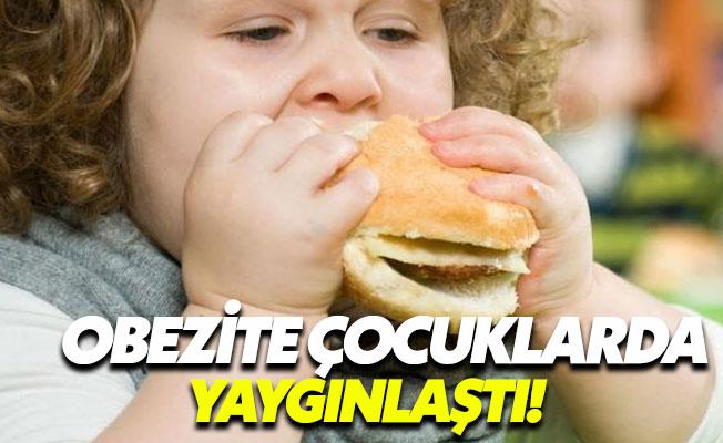 Çocuklarda obezite giderek yaygınlaşıyor