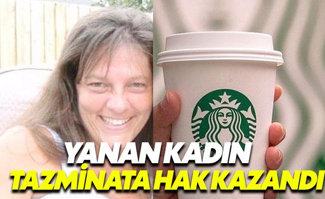 Fırlayan kapak Starbucks'ı yaktı