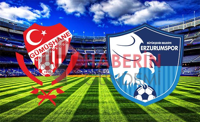 Gümüşhanespor Erzurumspor play-off final maçı ne zaman saat kaçta hangi kanalda