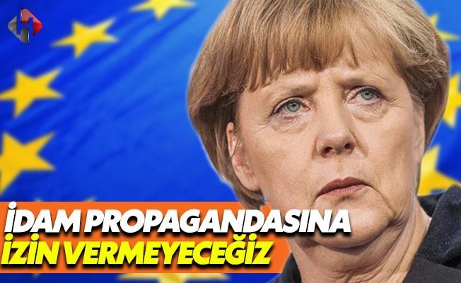 Merkel: Türkiye'ye Propaganda İzni Vermeyeceğiz