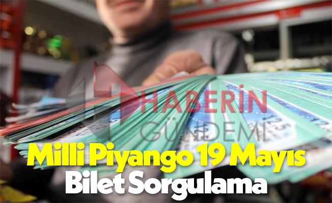 Milli Piyango 19 Mayıs özel çekilişi sıralı tam liste kazanan numaralar