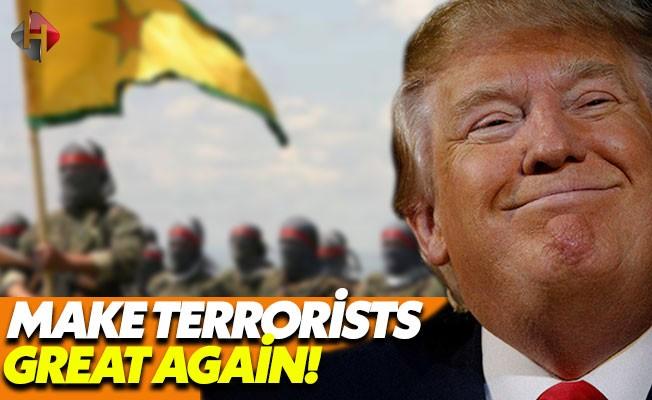 Trump Yönetimi YPG'yi Ağır Silahlarla Donatacak