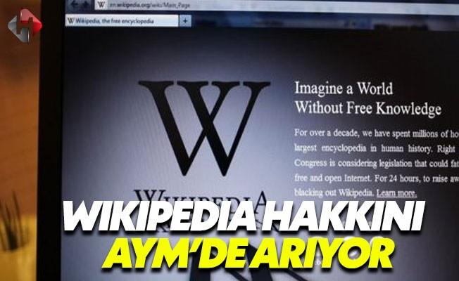 Wikipedia Yasakla İlgili Anayasa Mahkemesi'ne başvurdu