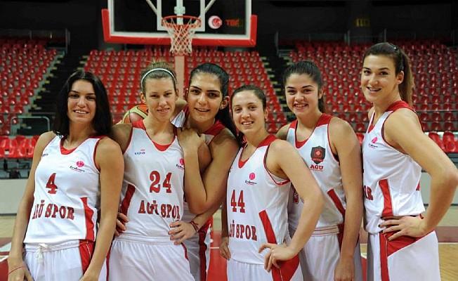 AGÜ Spor yeni yıla lider giriyor