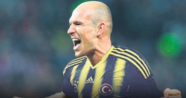 Fenerbahçe'de son bomba Arjen Robben
