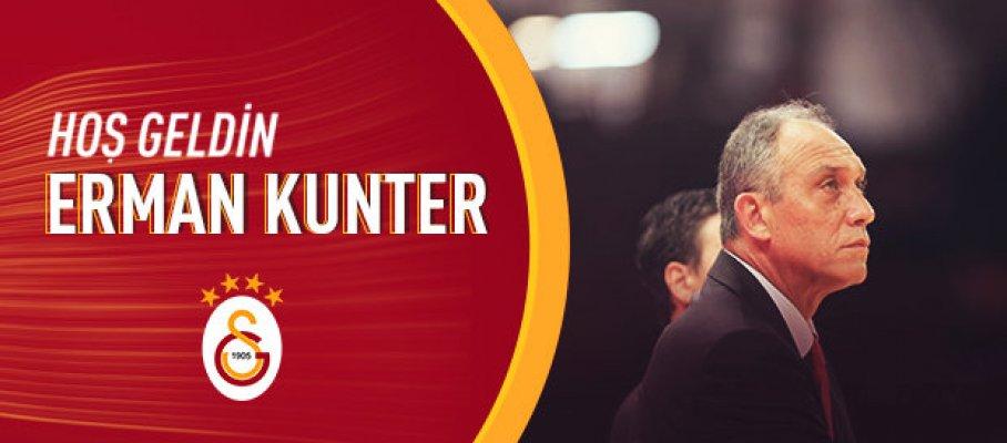 Galatasaray'da Ergin Ataman'ın yerine Erman Kunter