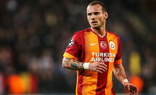 Galatasaray'da Sneijder'le yollar ayrılıyor