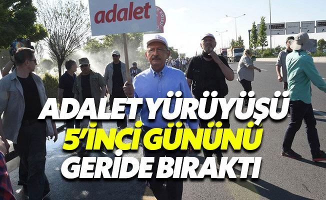 """Kemal Kılıçdaroğlu: """"Adalet için yürüyoruz"""""""