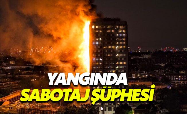 Londra'daki apartman yangınında sabotaj şüphesi