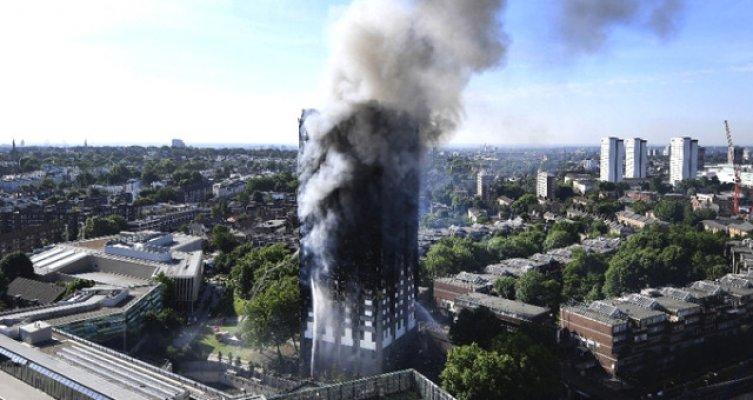 Londra'daki yangında ölü sayısı 12