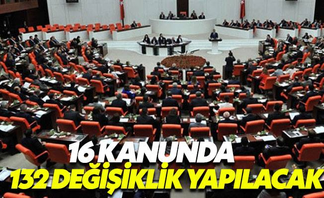 Yargı uyum yasası Meclis'e geldi
