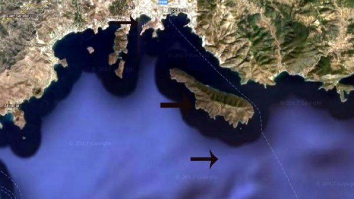 Bodrum'da tsunamiyi etkileyen faktör: Karaada