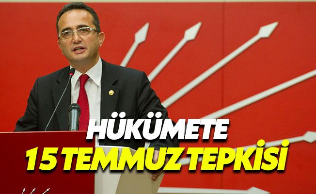 """CHP'li Tezcan: """"FETÖ darbe girişimini hükümetten habersiz mi yaptı?"""""""