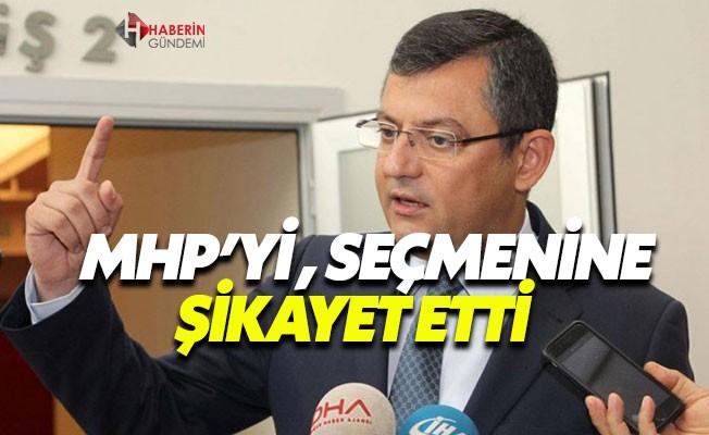 Özgür Özel, MHP'yi seçmenine şikayet etti