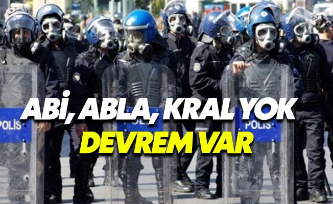 Ankara Emniyeti'den Çevik Kuvvet'e uyarı: Kanki, kral, hemşerim, abi, yasak