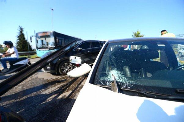 Antalya'da dehşet verici zincirleme kaza
