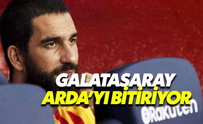 Galatasaray'dan Arda Turan'a 1 yıllık sözleşme