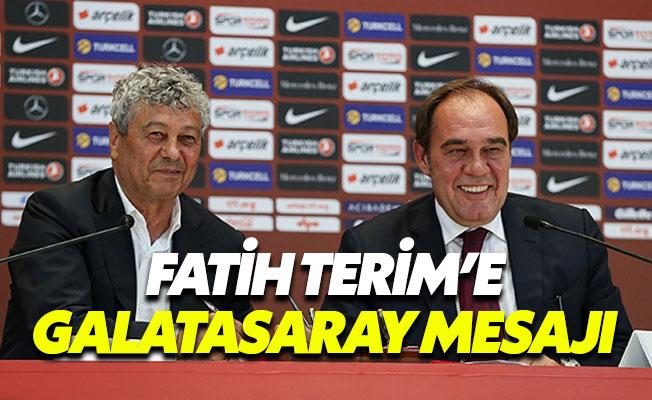 Lucescu'dan Fatih Terim'e Galatasaray mesajı