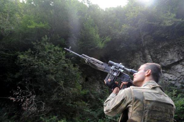 Trabzon'un Maçka ilçesinde terör avı