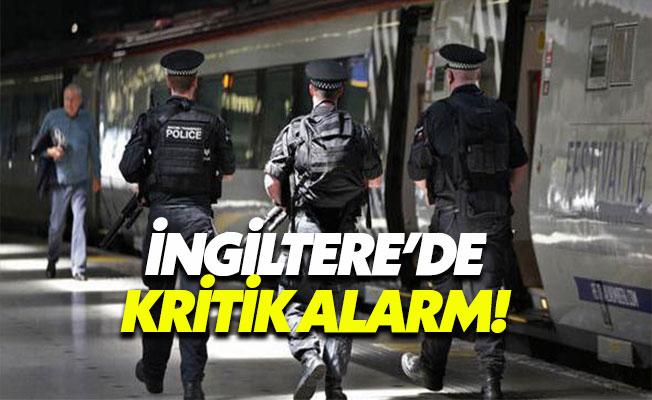 """Bombalı Saldırı Sonucu İngiltere'de Alarm """"Kritik"""" Seviyede"""