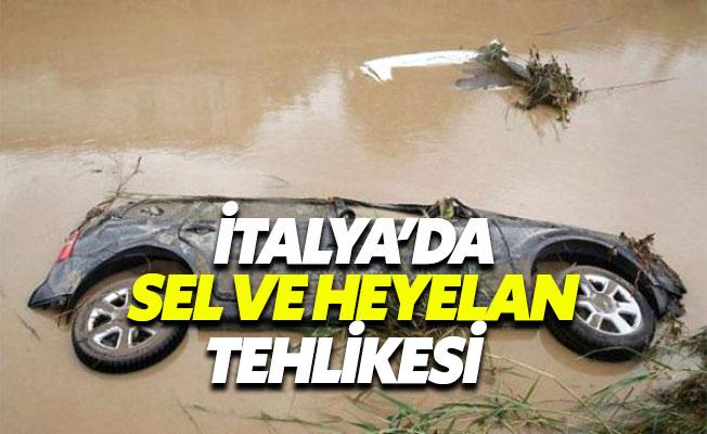 İtalya'da Sel ve Heyelan Tehlikesi 1'i Çocuk 6 Ölü