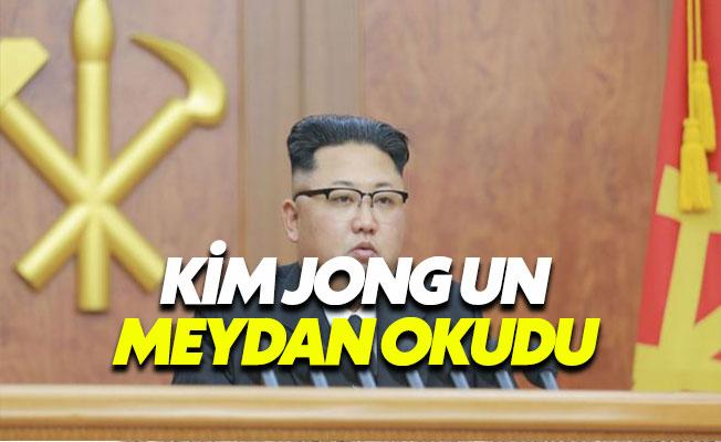 Kim Jong Un ABD'ye Meydan Okudu