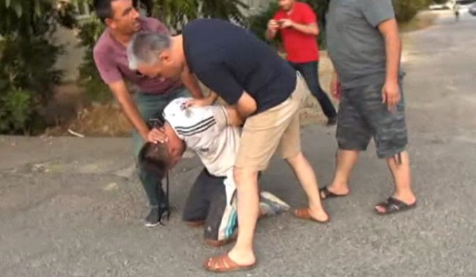 Motosiklet Çalmak İsteyen Hırsızı Polisler Kıskıvrak Yakaladı