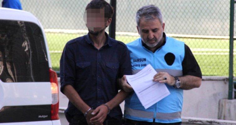 Samsun'da genç bir kızı elle taciz eden sapık tutuklandı