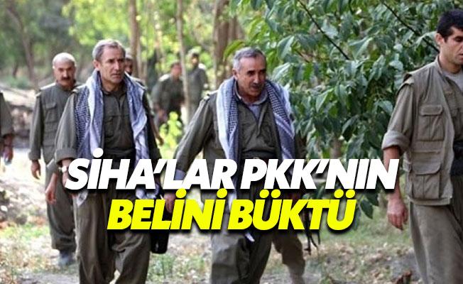 SİHA'lar PKK'nın korkulu rüyası oldu