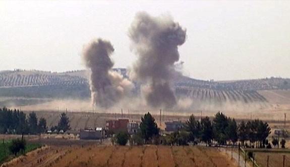 Cerablus'ta şiddetli patlamalar devam ediyor