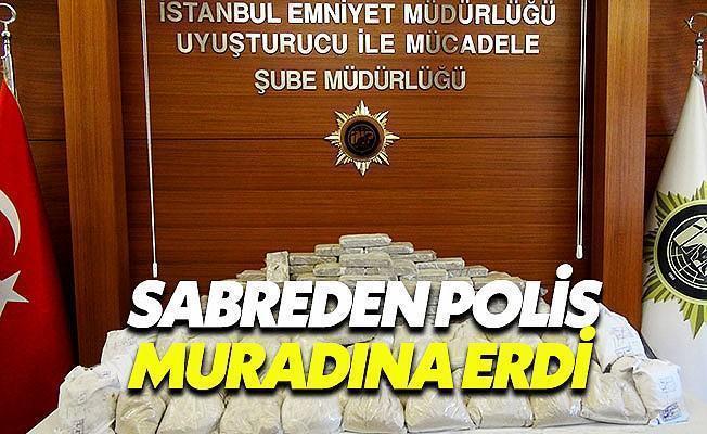 Polisin Sabrı Uyuşturcu Tacirlerine Darbe Vurdu