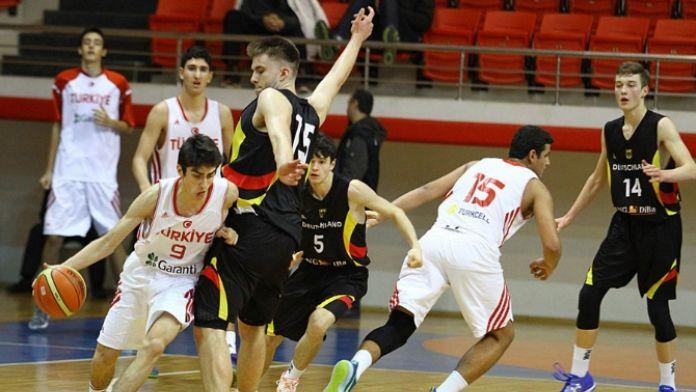 Türkiye U16, Alman ekibe mağlup oldu