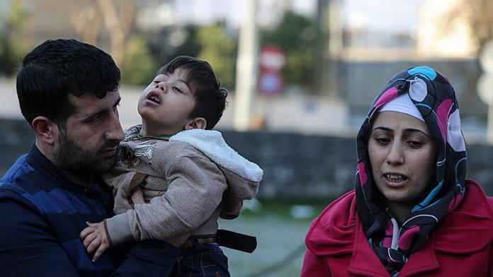 Cizre'de Askerlerden duygulandıran davranış