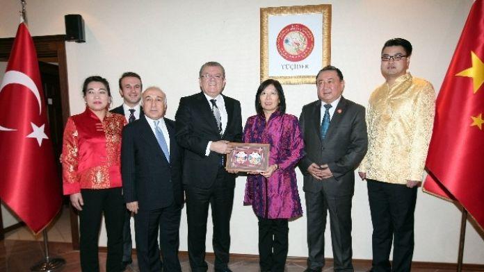 ATO Başkanı Bezci, Çin Yeni Yıl Bayramı Kutlamalarına Katıldı