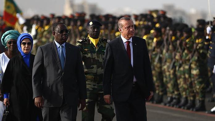Erdoğan Senegal'de