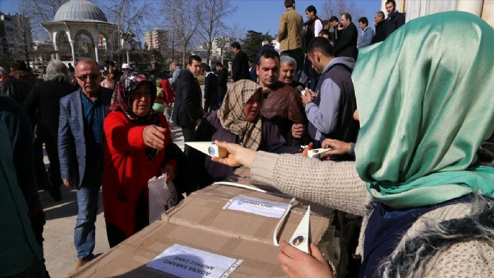 Adana'da merhum Sabancılar için mevlit okutuldu
