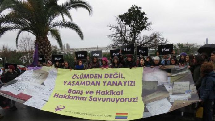 Women head to Diyarbakır for 'peace guard'