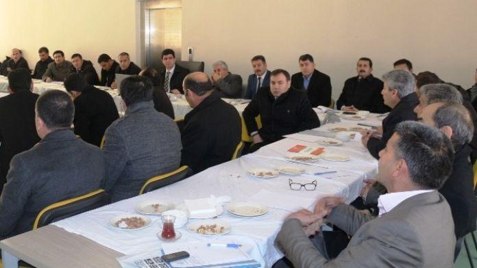 Erciş'te Akademik Eğitimi Geliştirme Toplantısı