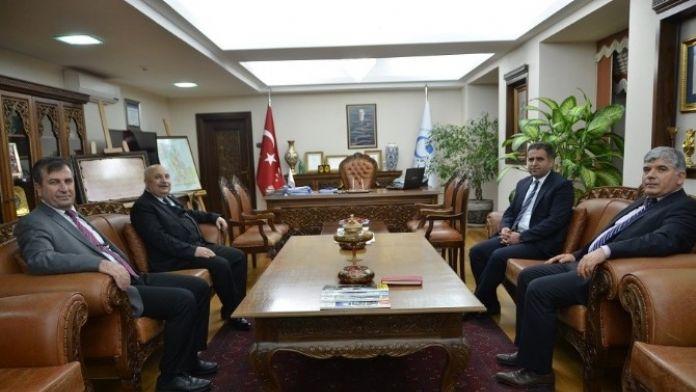 Milletvekili İbrahim Halil Fırat Adıyaman Üniversitesi'ni Ziyaret Etti