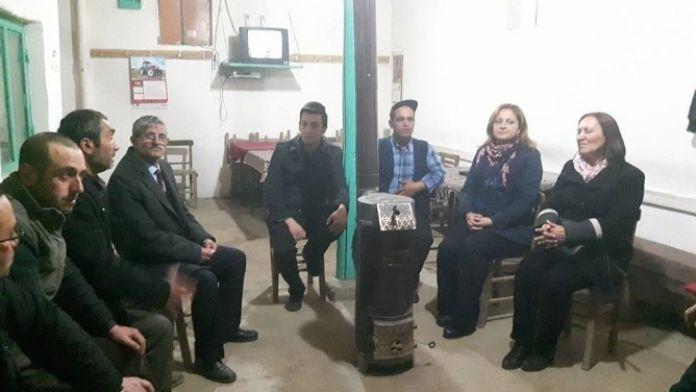 CHP Afyonkarahisar Milletvekili Burcu Köksal Şuhut İlçesini Ziyaret Etti